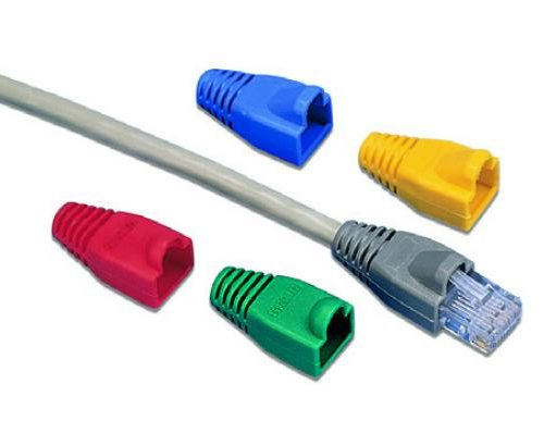 RJ45 Green Boot Sleeves