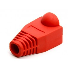 cat5rj45boot-r; RJ45 Red Boot