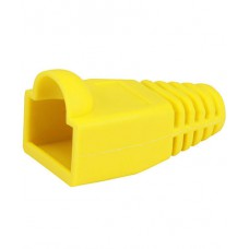 CAT5 RJ45 Boots Yellow