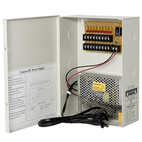 Surveillance Power Supplies, CCTV PSU , CCTV Camera Power Supply