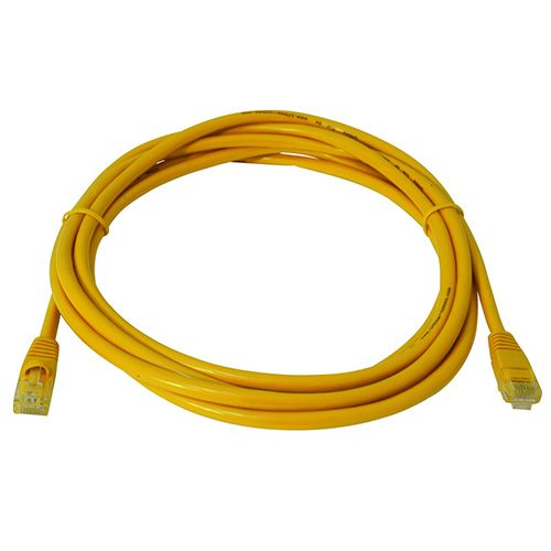 CAT5e Yellow; Yellow Leads 1m; Yellow Leads; Yellow Leads 3m; UTP 24AWG Cattex; CAT6 Leads Yellow; CAT6A Leads Yellow