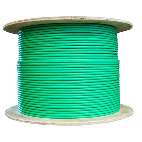 500m Green Cable