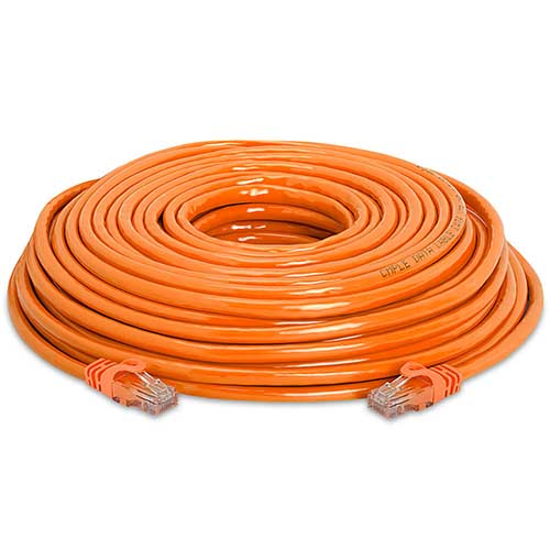 Orange Network CAT5e Cable