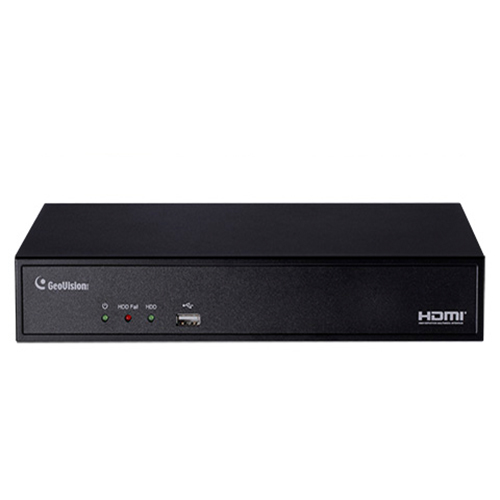 Geovision GV-SNVR0411 - Standalone Network Security video recorder