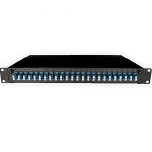 Cattex 24 Way LC Patch Panel – With Splice Kit for fibre