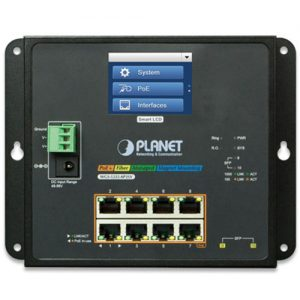 WGS-5225-8P2SV Wall-mount PoE Managed Switch