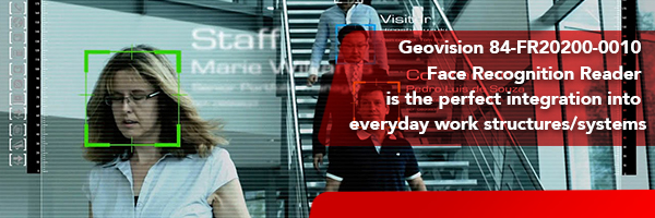 The Geovision 84-FR20200-0010 Face Recognition Reader
